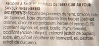 Lay's Cuites au four - Ingrediënten - fr