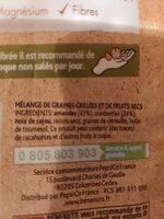 Plaisir brut - Ingrediënten - fr