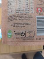 Plaisir brut non salé Mélange de noix - Recyclinginstructies en / of verpakkingsinformatie - fr