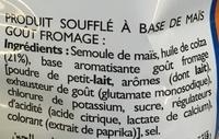 Cheetos goût fromage - Ingredienti - fr