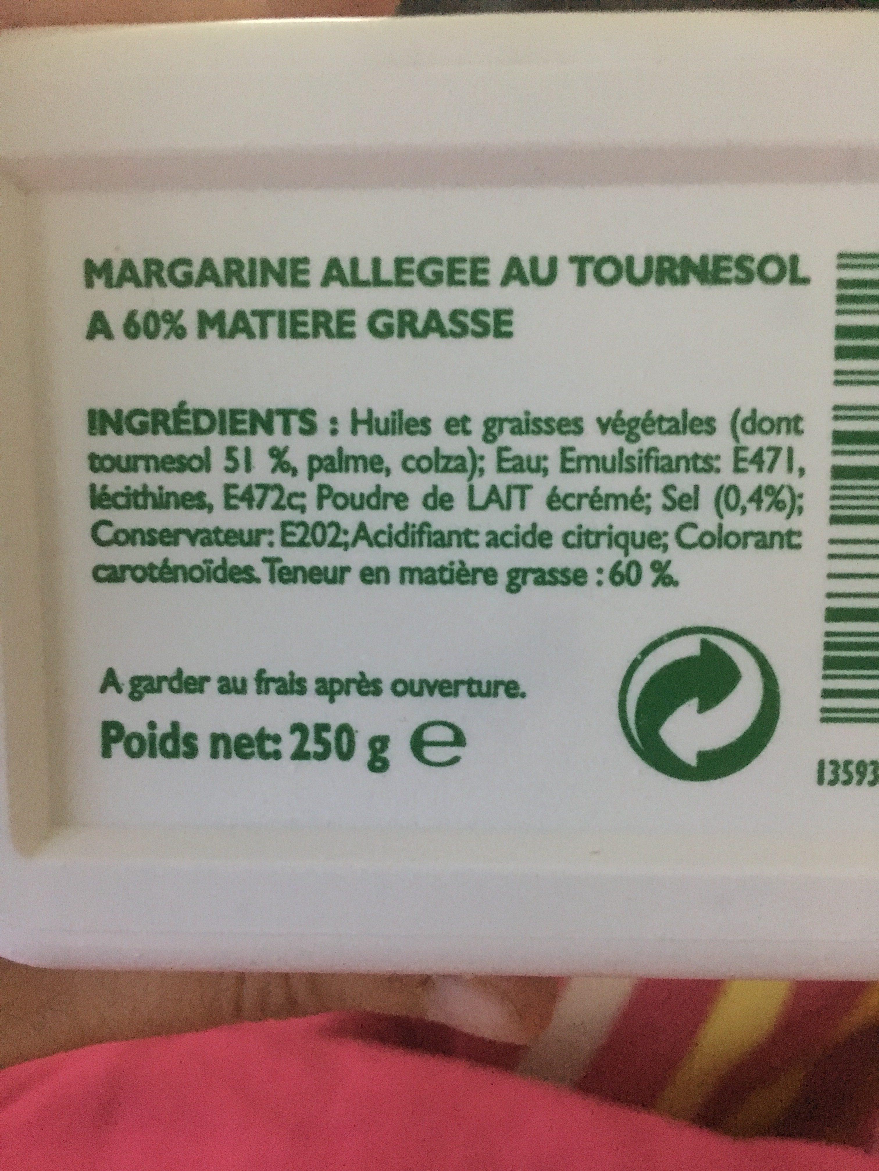 Beurre Pour Tartiner Et Cuisiner - Ingrédients