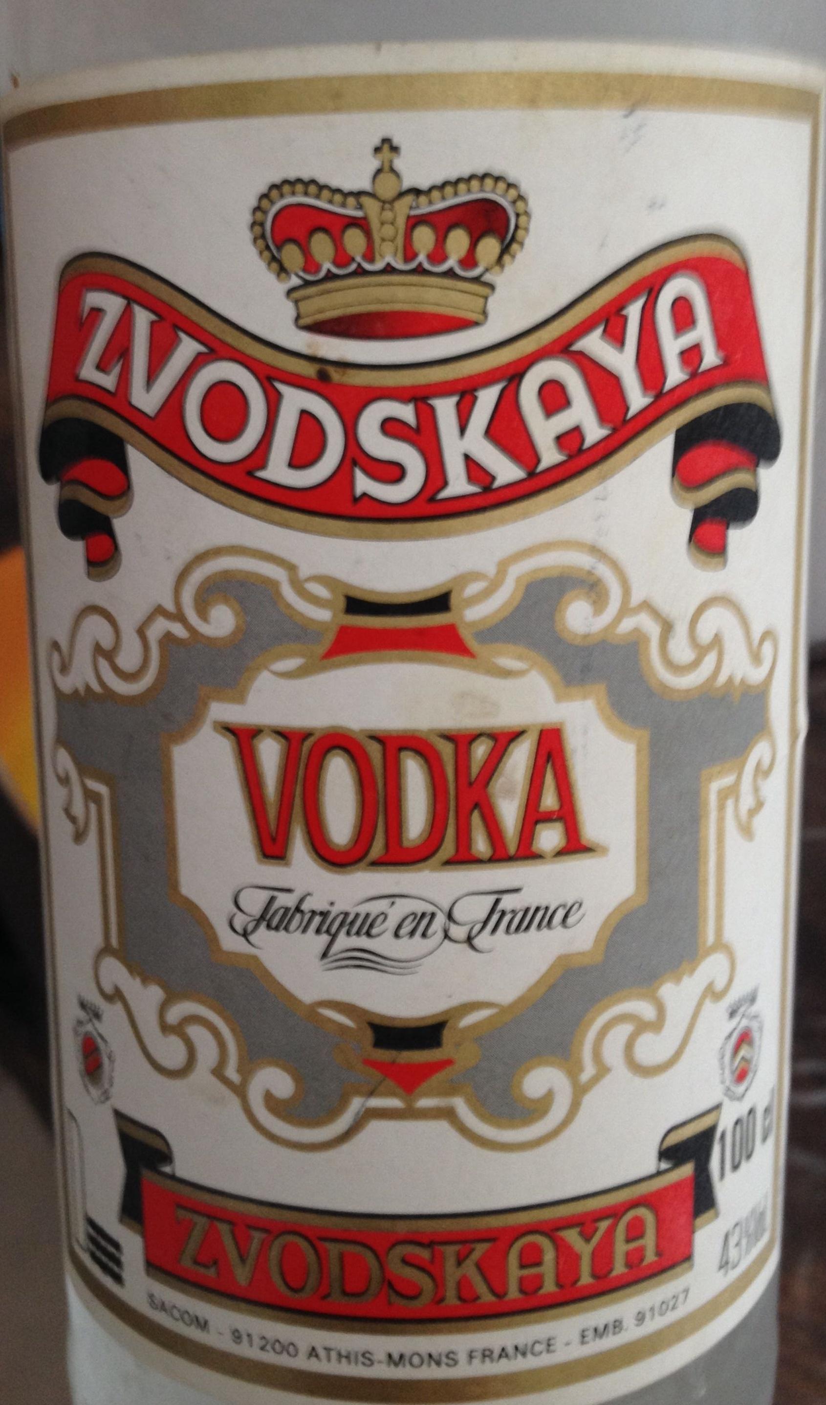 Vodka - Product - fr