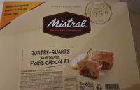 Quatre-quarts poire chocolat - Product