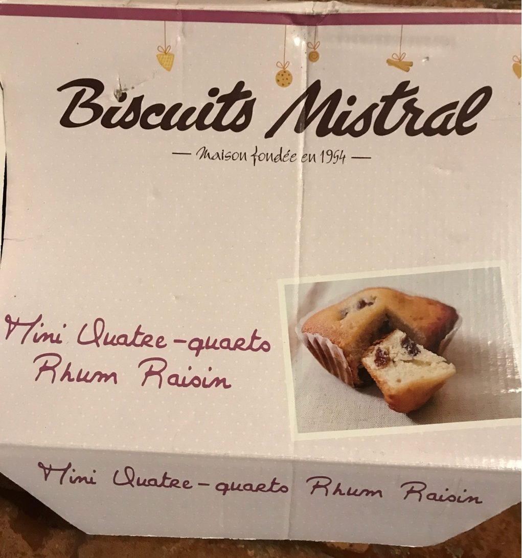 Mini Quatre-Quarts Rhum Raisin - Product - fr