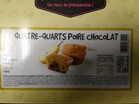 Quatre-Quarts Poire Chocolat - Product - fr