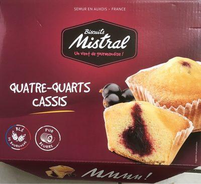 Quatre-Quarts Cassis - Produit - fr