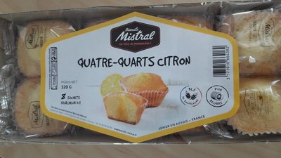 Quatre quarts citron - Produit