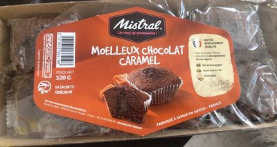 Moelleux chocolat caramel - Product - fr