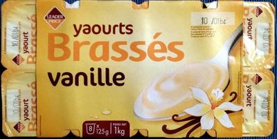Yaourts Brassés Vanille - Product - fr