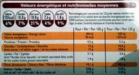 Yaourts Brassés Vanille - Nutrition facts - fr