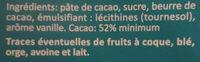 Chocolat noir pâtissier C'est qui le Patron ?! - Ingredients