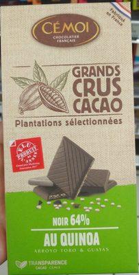 Chocolat Noir 64% de cacao au quinoa Bio - Produkt - fr