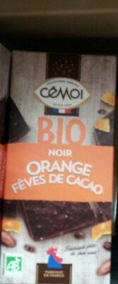 Bio orange fèves de cacao - Produkt - fr