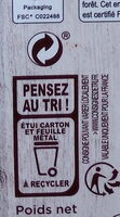 Bio orange fèves de cacao - Recycling instructions and/or packaging information - fr