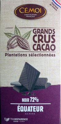 Noir 72% Équateur - Product - fr