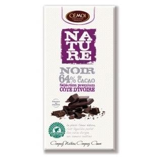 Nature noir 64% de cacao côte d'ivoire - Product - fr