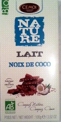 Nature Lait Noix de coco bio - Produit