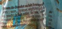 Secrets de chocolat - Ingrédients
