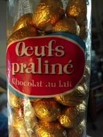 Œufs praliné chocolat au lait - Product