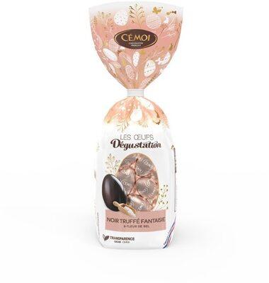 Bonbons Chocolat Noir Pointe de Sel - Produit - fr
