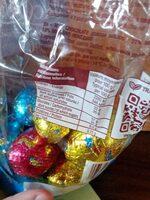 Oeufs en chocolat - Valori nutrizionali - fr