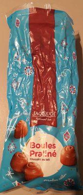 Boules Praliné Chocolat au Lait - Produit
