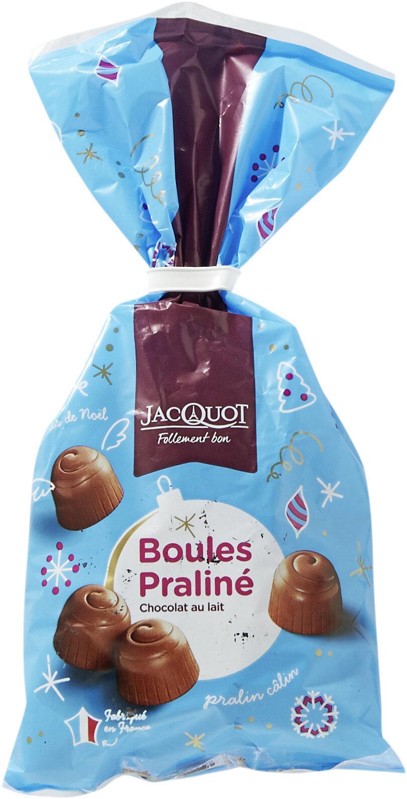 Boules Praliné Chocolat au Lait - Produit - fr