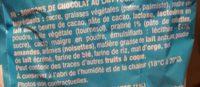 Boules Praliné Chocolat au Lait - Ingrédients - fr