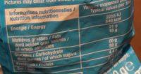 Boules Praliné Chocolat au Lait - Informations nutritionnelles - fr