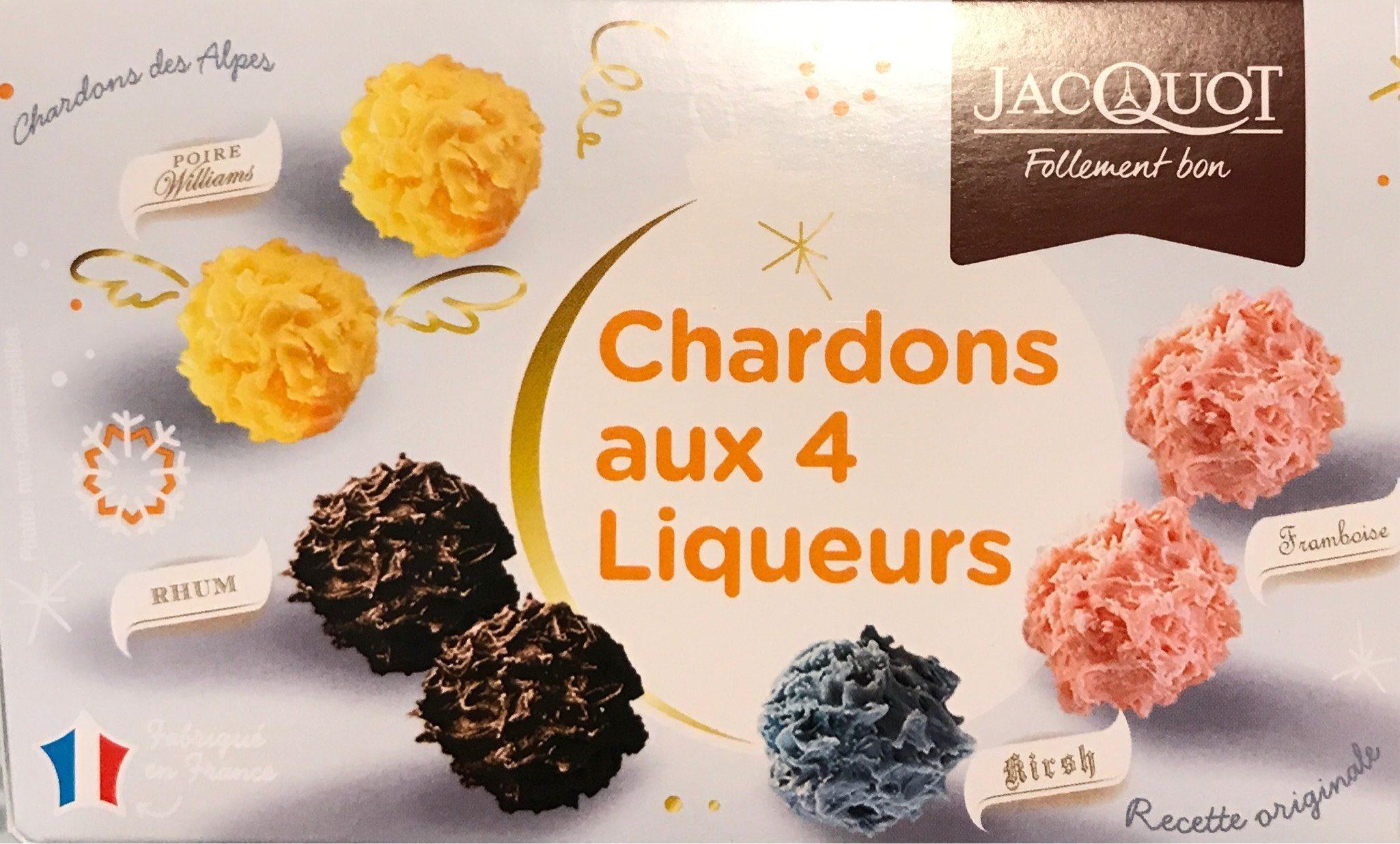 Chardons au 4 liqueurs - Produit