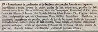 Chardons des Alpes Liqueurs - Ingredients