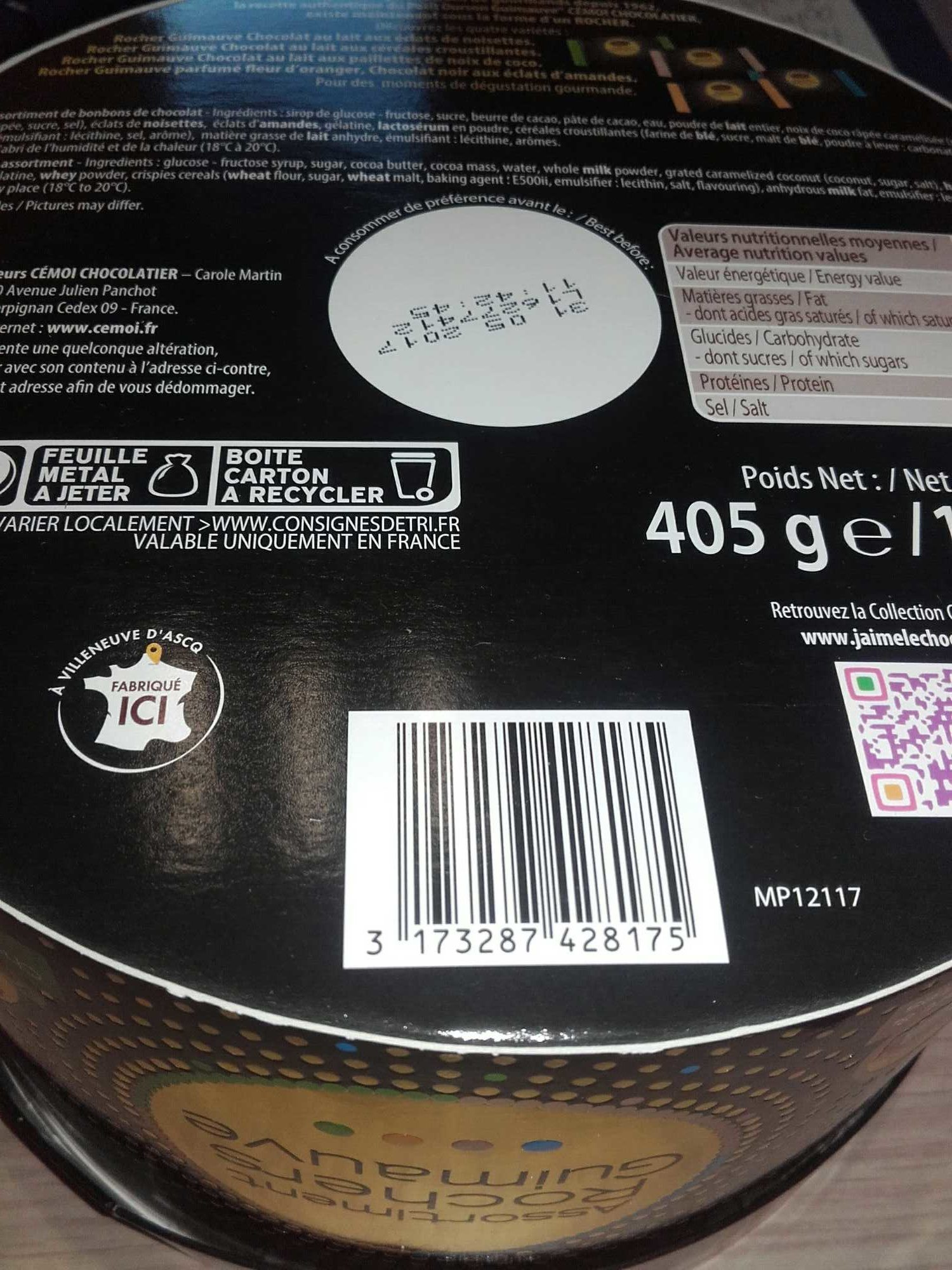 Assortiment Rochers Guimauves - Product - fr