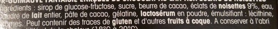 Rocher Guimauve - Ingredients - fr