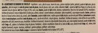 Cheverny Assortiment de chocolats au lait Noirs et Blancs - Ingredients - fr