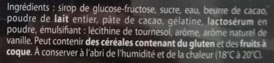 Cœur Guimauve - Ingrédients - fr