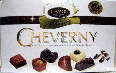 Cheverny Assortiment de chocolats au lait noirs et blancs Cémoi - Product - fr