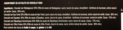 Decouverte grands cacaos - Ingrédients - fr