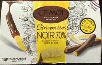 Citronnettes noir 70% - Product - fr