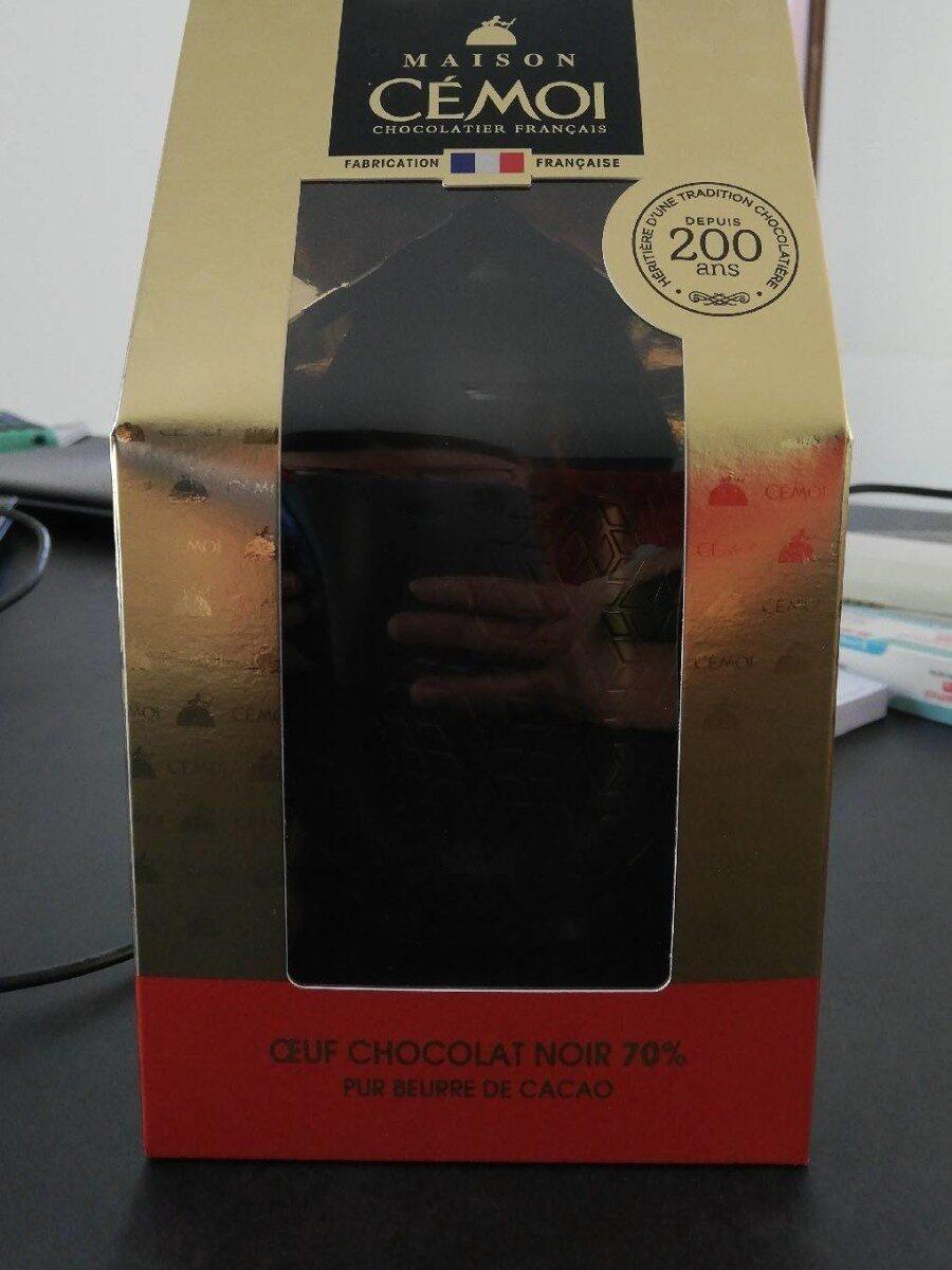 Oeuf chocolat noir 70% - Prodotto - fr