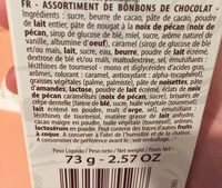 Cheverny Stick Cémoi - Ingredients
