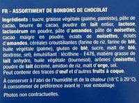 Chocolats 7 Spécialités - Ingredients