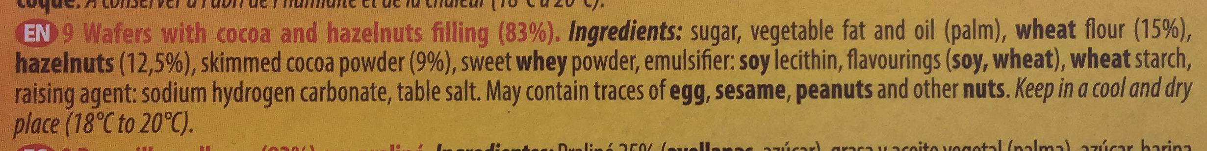 Quadro - Ingredients - en