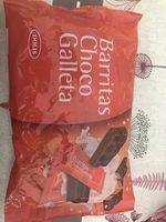 Barritas choco galleta - Producte