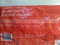 Barritas choco galleta - Ingredients