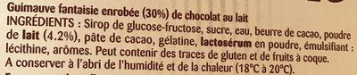 Le vrai! Petit ourson - Ingredienti - fr