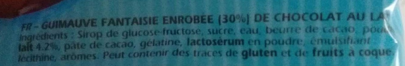 Petit Ourson guimauve - Ingredienti - fr