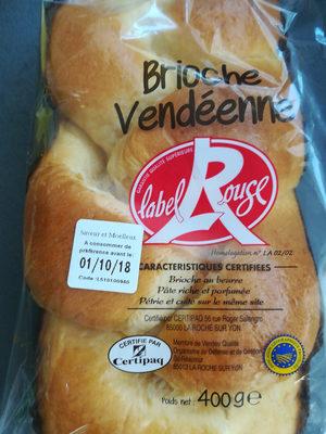 Brioche Vendéenne Label Rouge, La Pièce De, - Produit - fr