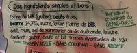 Brioche Vendéenne Label Rouge, La Pièce De, - Ingrédients - fr