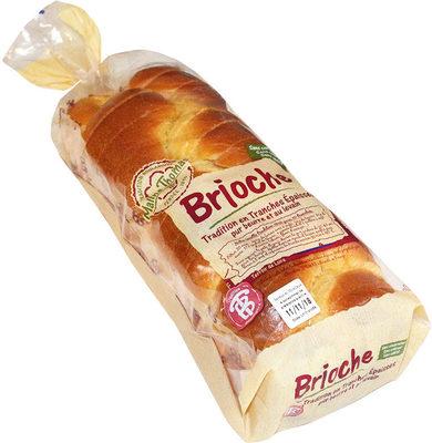 Brioche Tradition en tranches épaisses pur beurre et au levain - Produit - fr