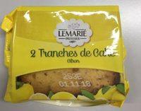2 Tranches de Cake Citron - Product - fr